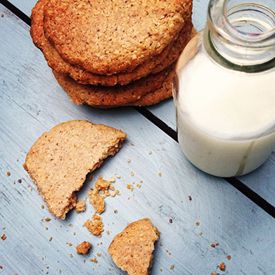 cookies gluten free and almond milk