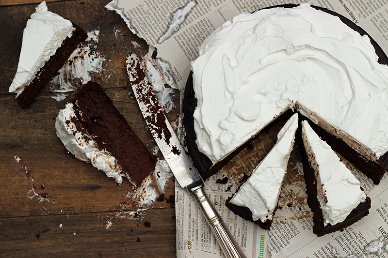 Chocolate Guinness Cake, St Patrick's Day