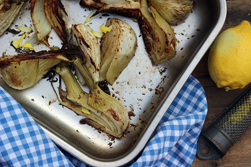 Cumin & Coconut Roasted Fennel