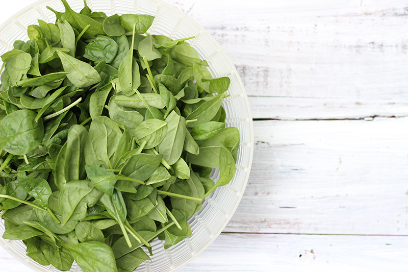 spinach baby image