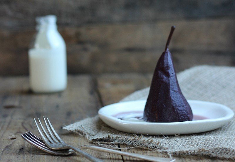 Thanksgiving: Star Anise Poached Pears