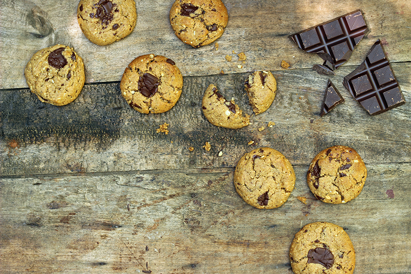 Kickass 5-Ingredient Cookies