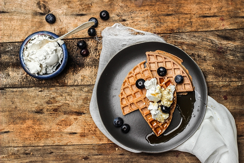 Vegan Plant-Powered Waffles