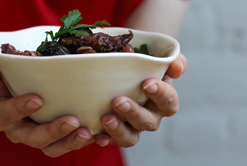 Mushroom & Merlot Stew