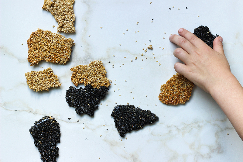 How to Make Sesame Snaps