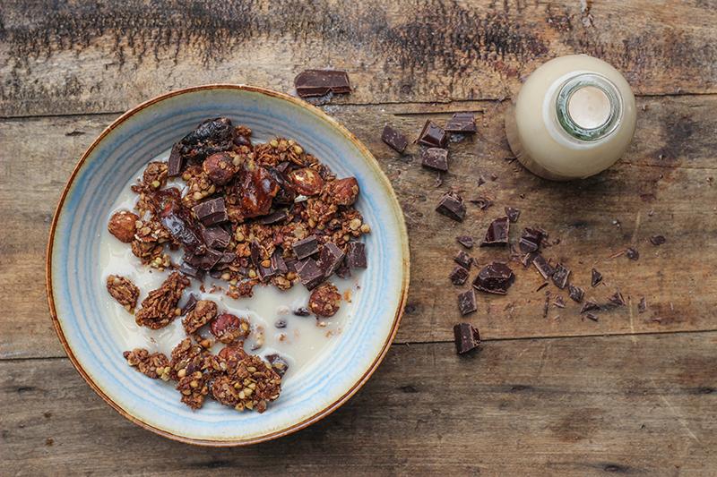GRAINOLA – a multigrain granola